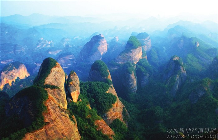 惠州九龙峰旅游风景区