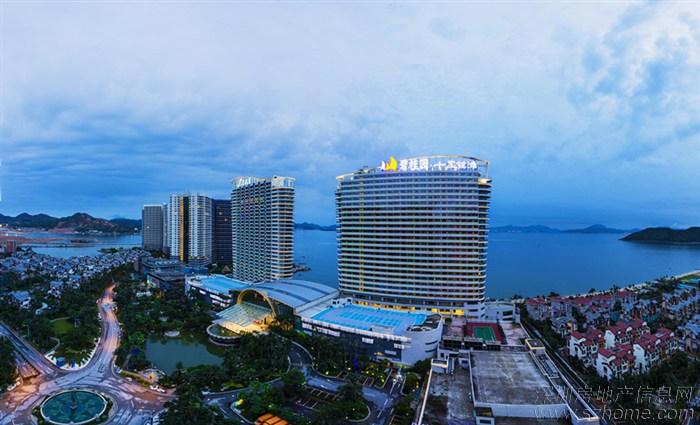 > 惠东海滨线上几大度假楼盘,规划全景图,哪个最美?