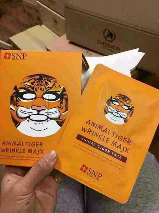 日本版的动物面膜安以轩,袁咏仪已经在用哦!一盒10 片,一箱50盒.
