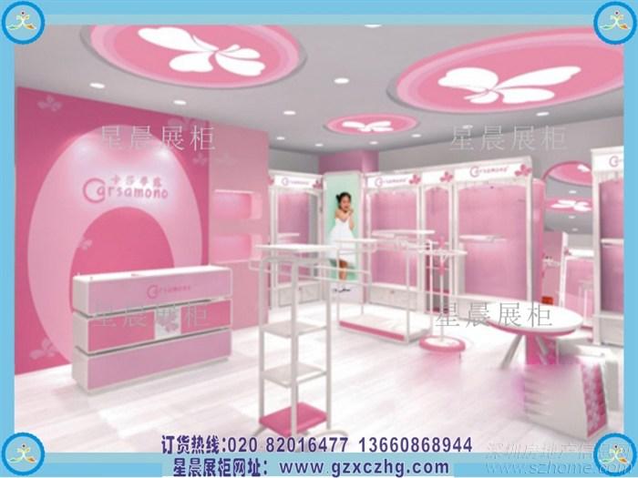 一方面是对童装展柜设计师们提出的更高要求,一方面也要求展柜厂家