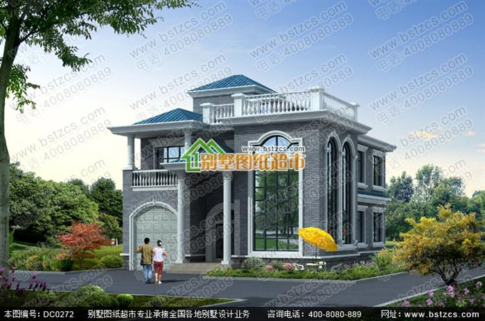 二层半别墅设计图片
