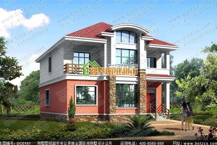 2015农村小别墅设计图效果图