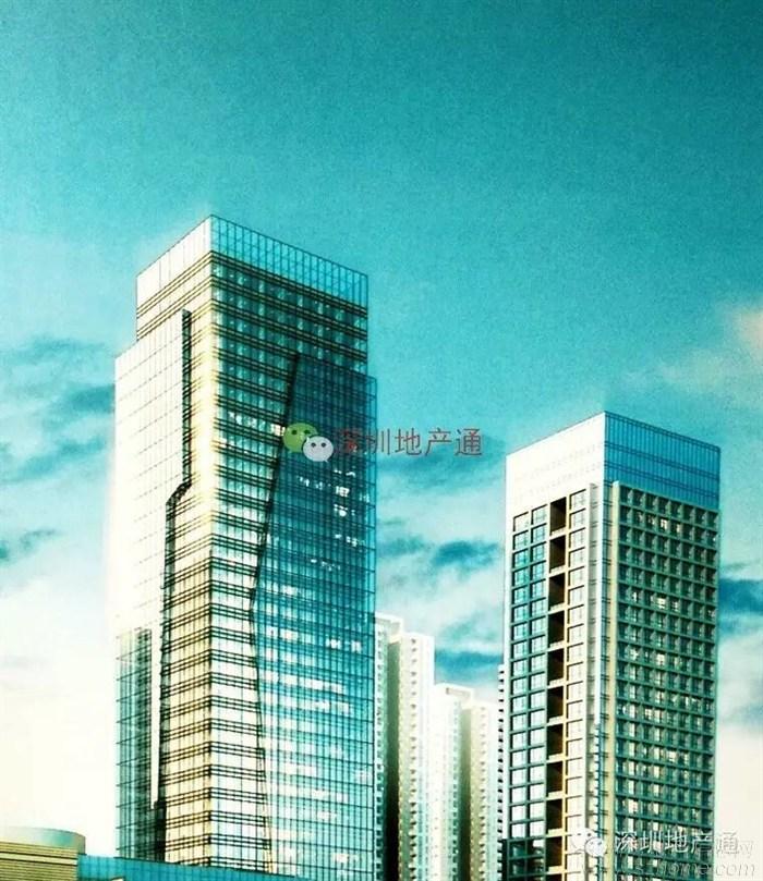 心海城 效果图出炉 超高层住宅突破150米 40层