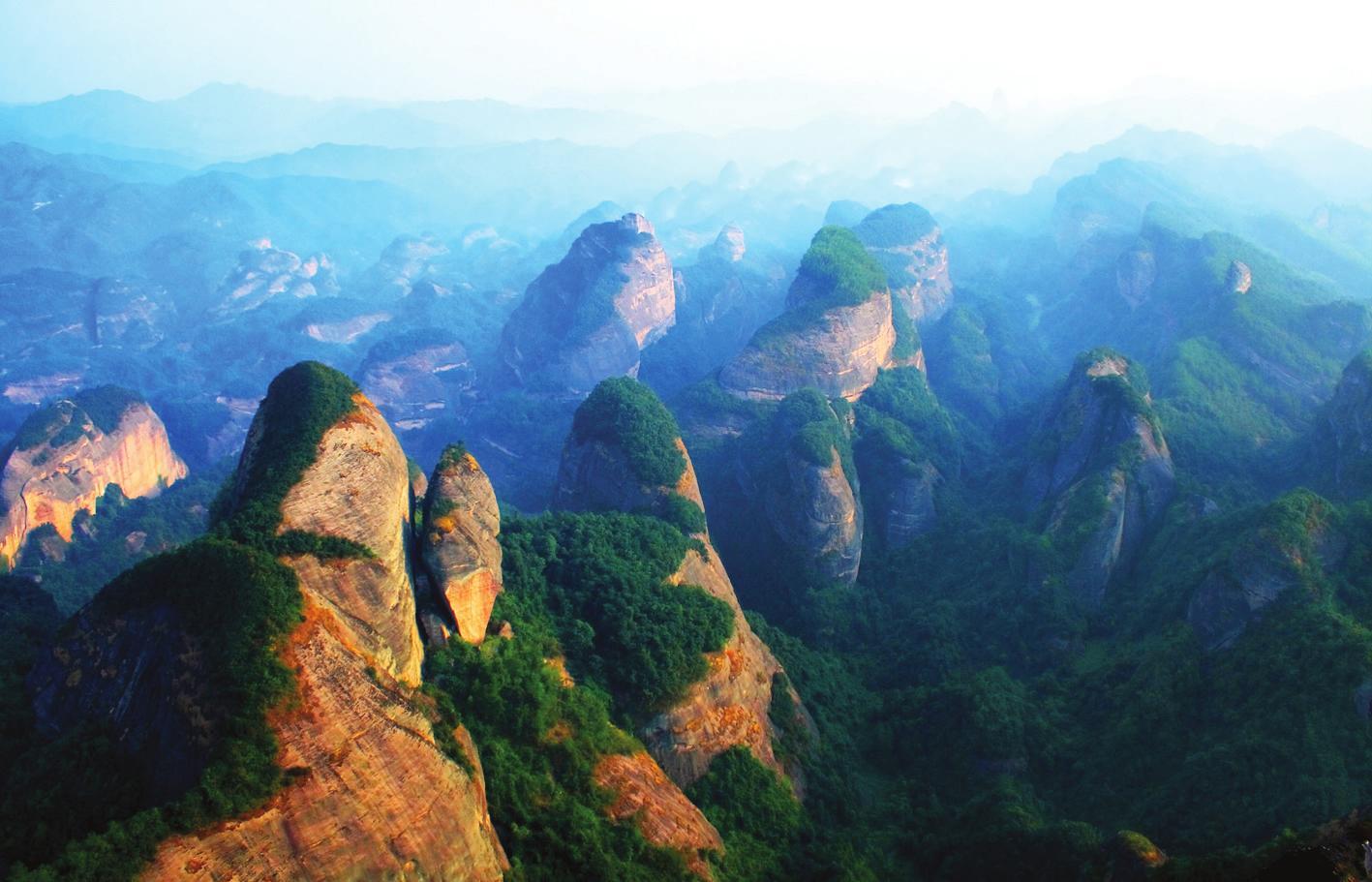 东省丹霞山风景区