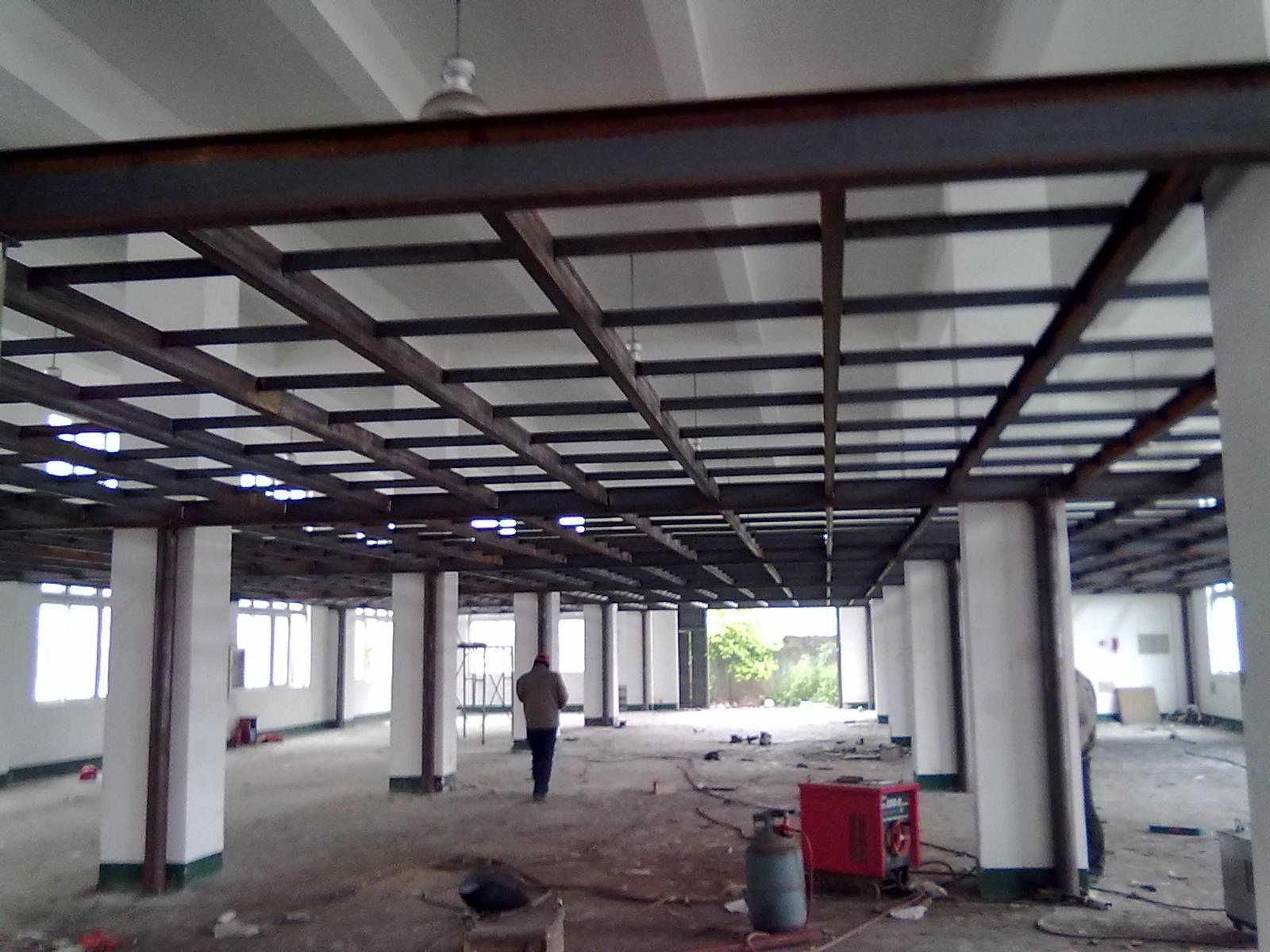 北京海淀区店面搭建二层钢结构钢结构厂房施工仓库