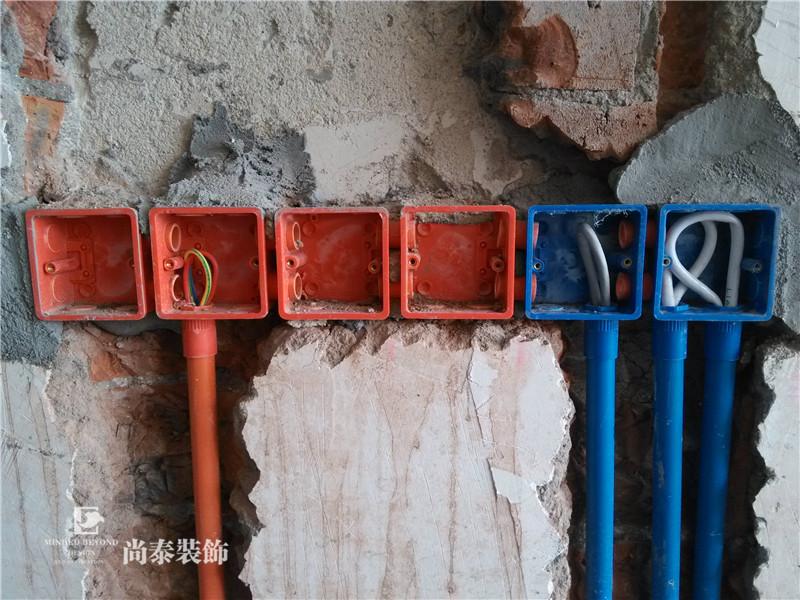 深圳装修--电路装修展示标准施工工艺