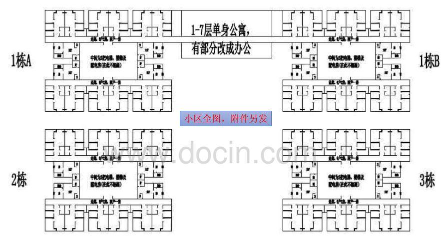 龙海家园部分楼层平面图 - 家在深圳-房网论坛(深圳房