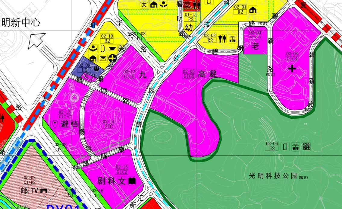 光明新区东片区规划升级
