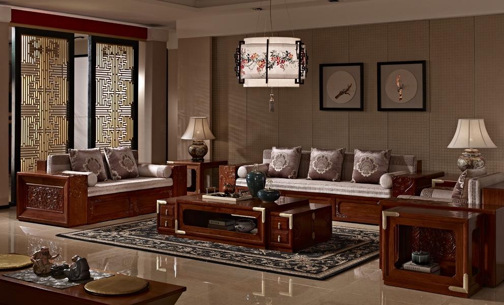 尚好瀚晟堂红木家具,新中式的典范