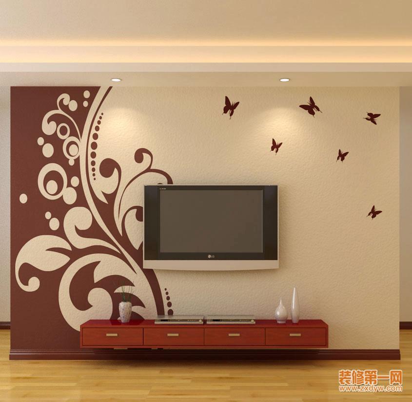 深圳硅藻泥电视背景墙——深圳兰舍硅藻泥