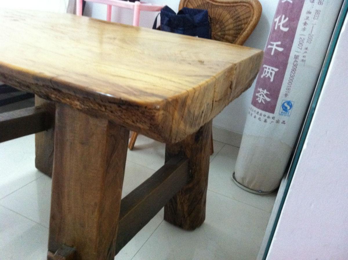 实木樟木桌子转让!
