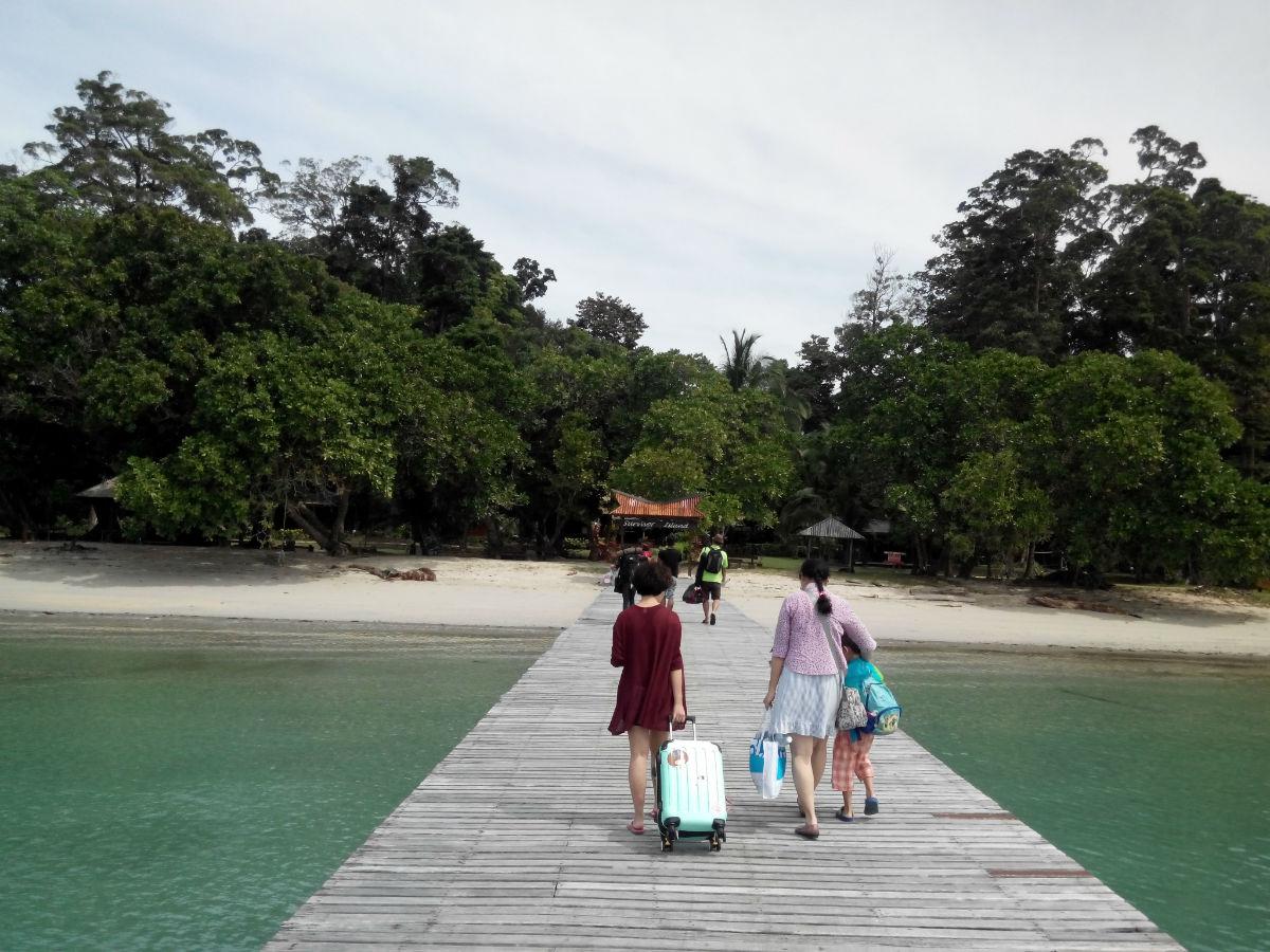 > 马来西亚沙巴迪加岛2日1夜游