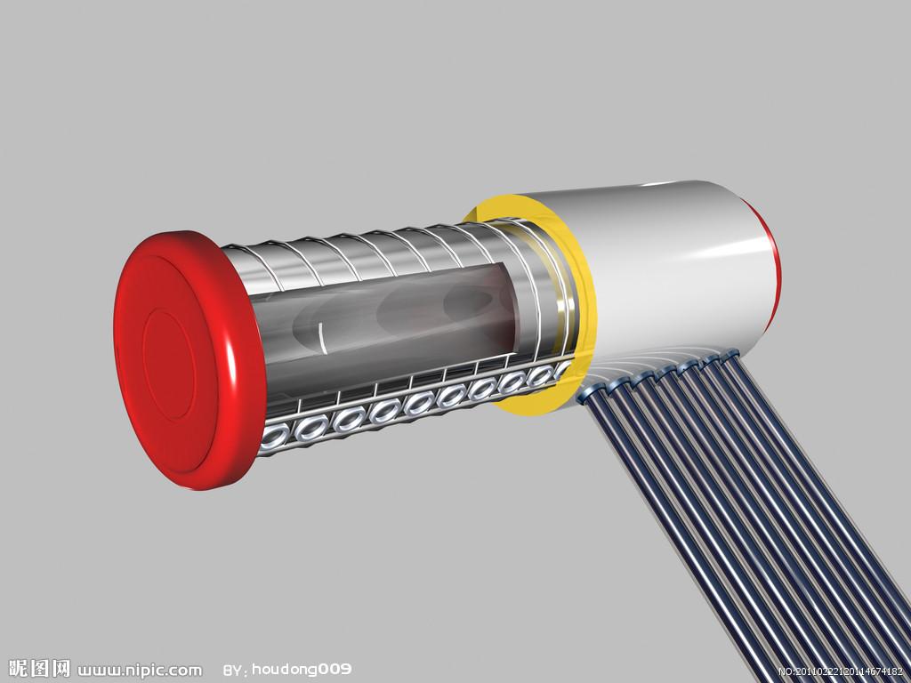 水箱为太阳热水器的储水装置