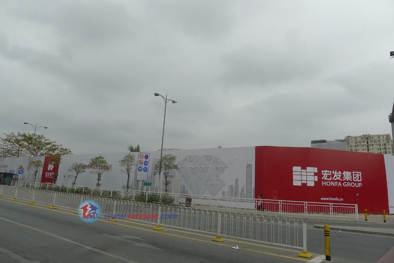 宏發前城實景圖走起 - 家在深圳-房網論壇(深圳房地產圖片