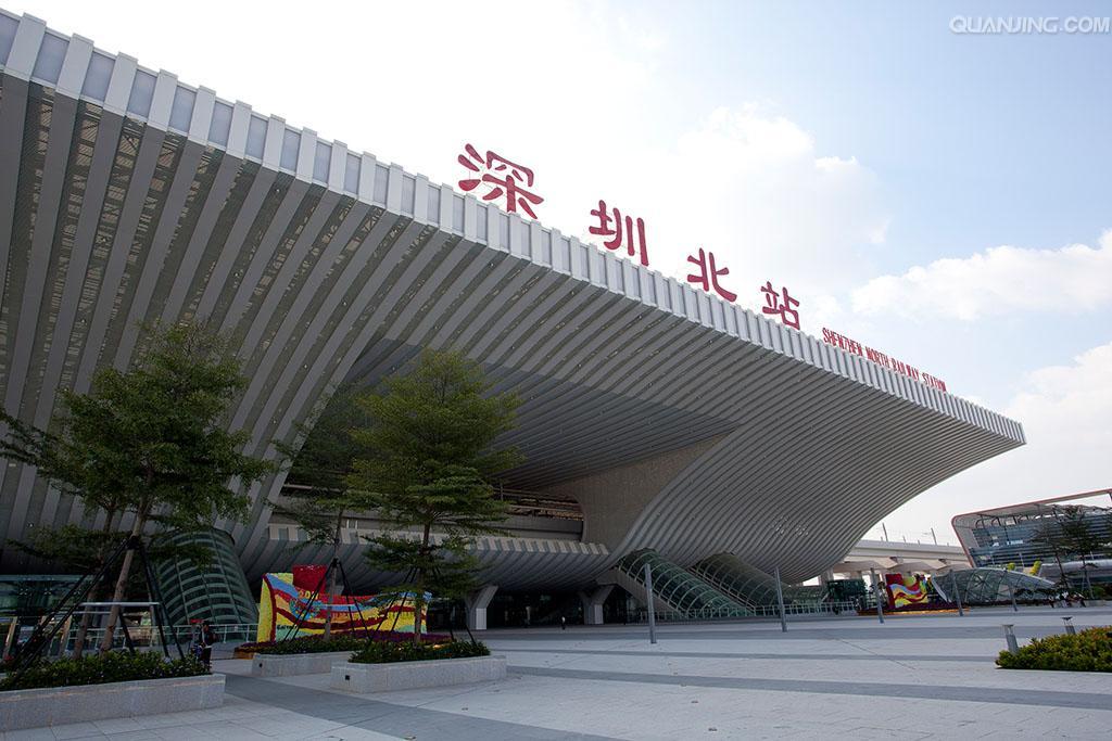 亚洲最大火车站深圳