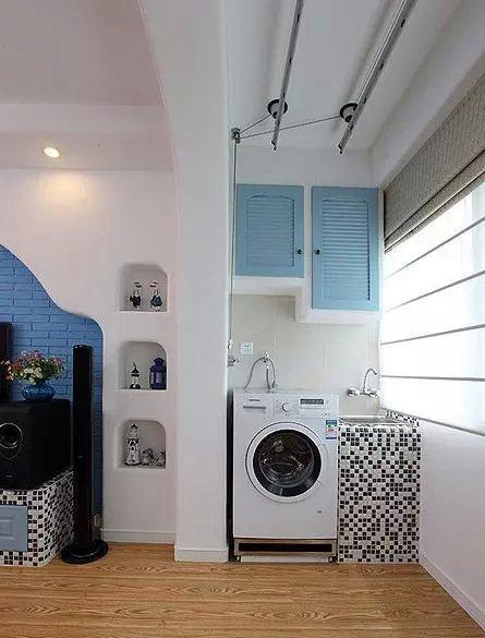 深圳阳台洗衣机柜,洗衣机伴侣图片