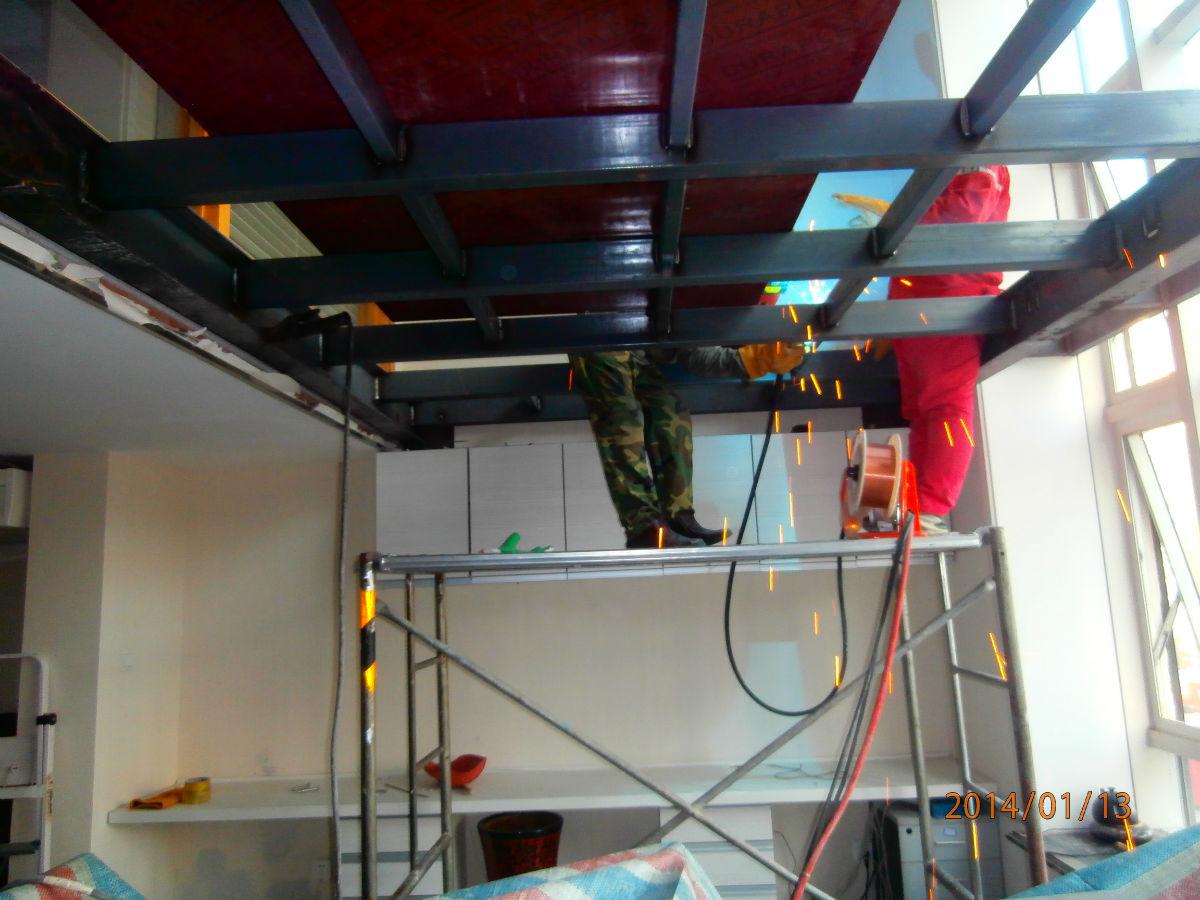 北京专业搭建阁楼/钢结构夹层制作/钢结构厂房安装