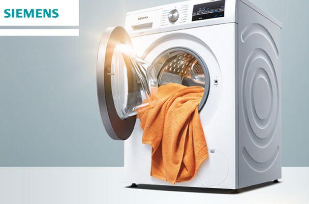 德国西门子8公斤变频洗干一体全自动滚筒洗衣机