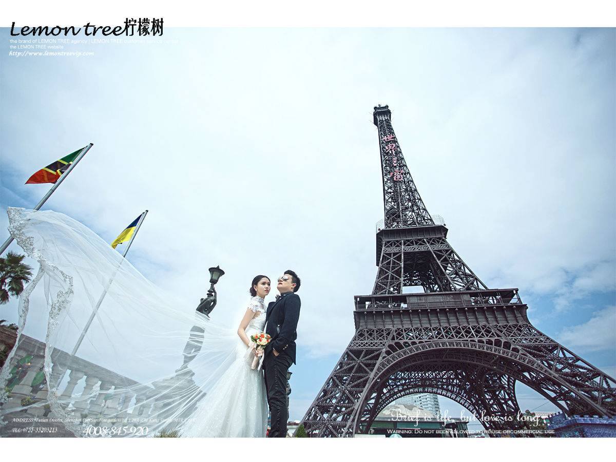 深圳的巴菲尔铁塔【深圳柠檬树婚纱摄影工作室】