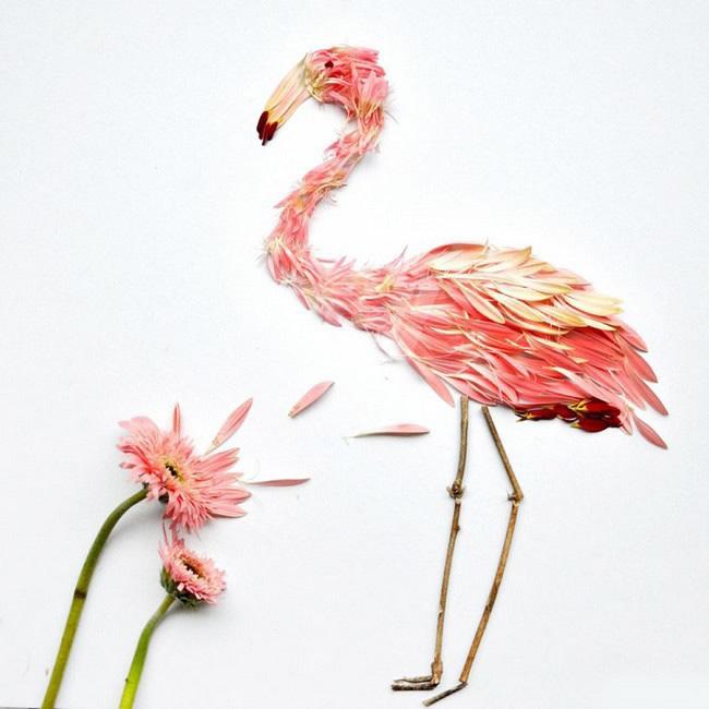 美文美图:花瓣做的奇绚鸟类,大赞 - 家在深圳-房网 ...