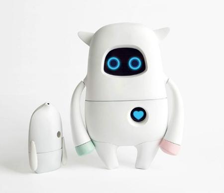 这个智能家居机器人好呆萌
