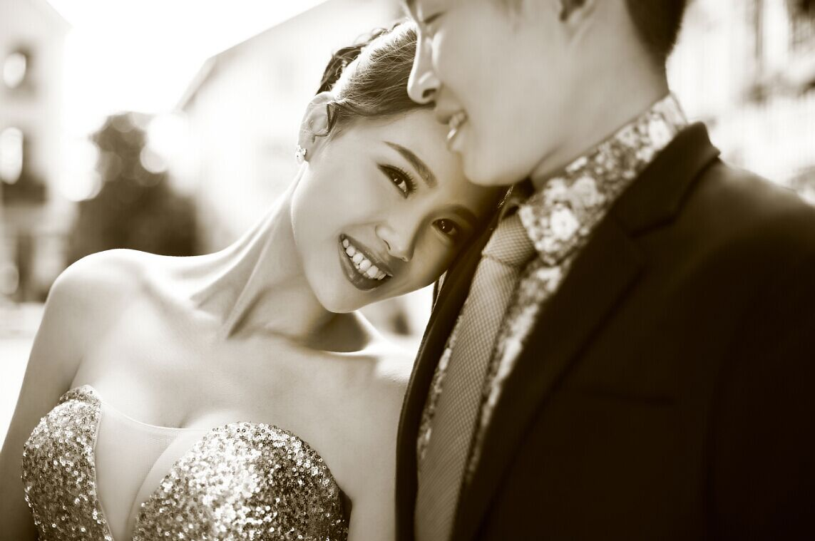 欧式风格婚纱照