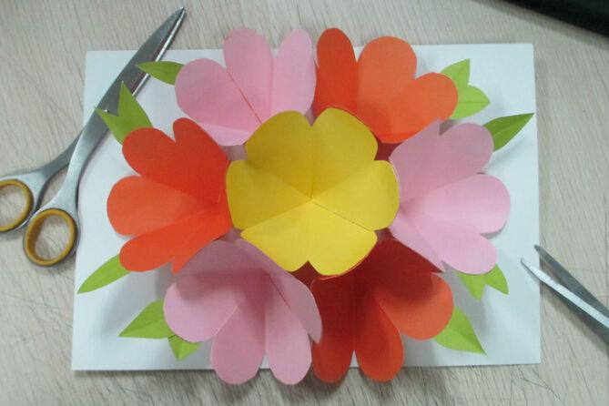 > 立体贺卡,教师节送给老师送美丽的爱