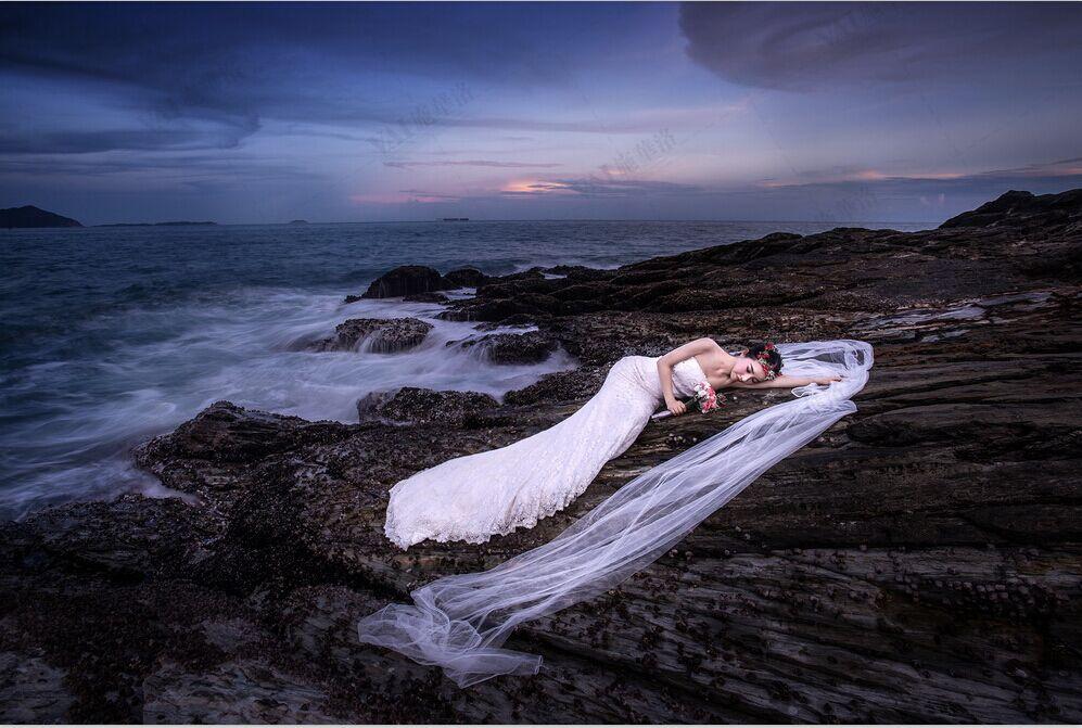 夜景婚纱照怎样拍才更美丽