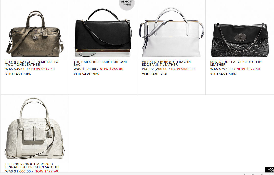 coach totes outlet  coachoutlet0923