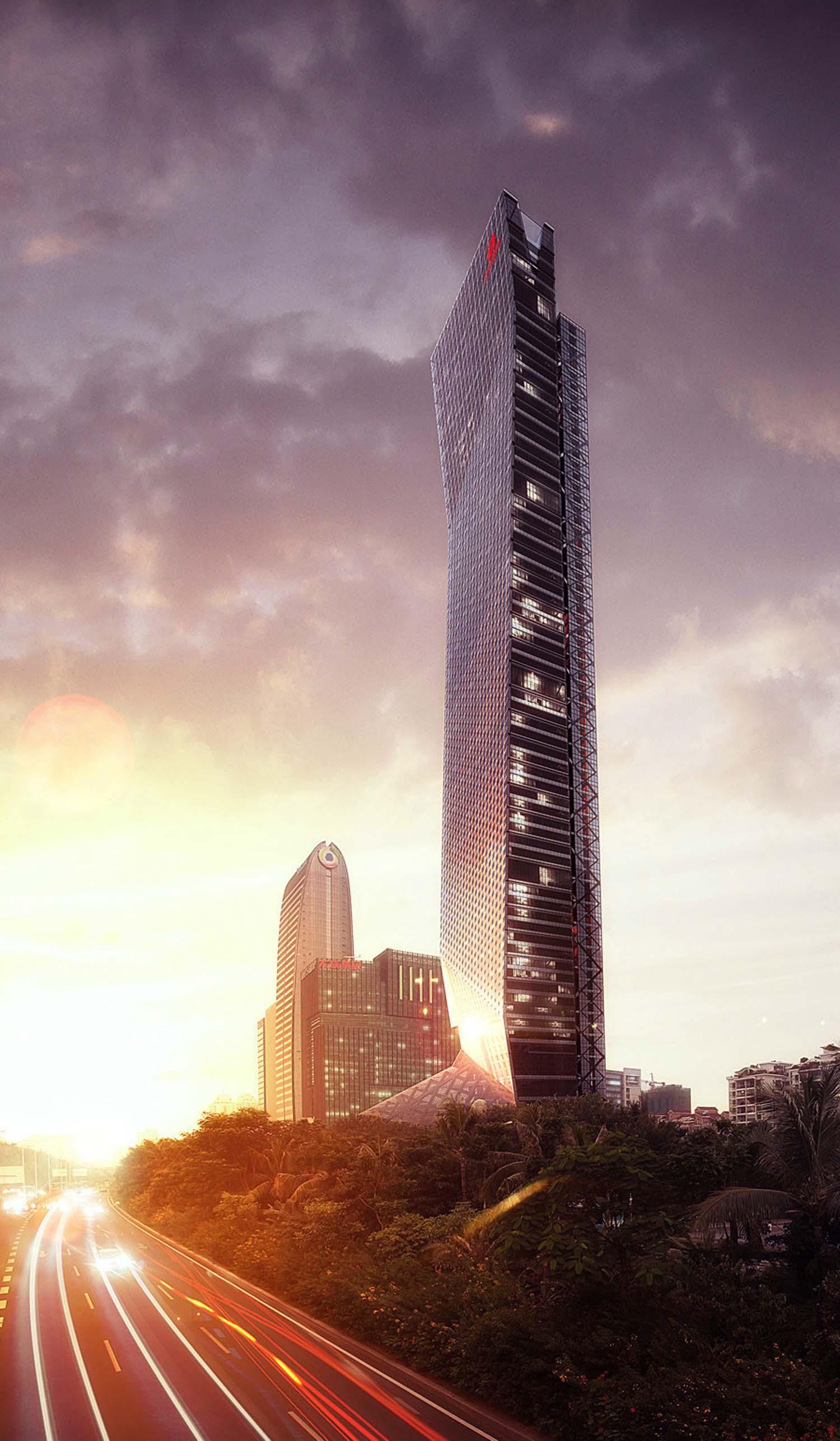 钢构景观眺望塔
