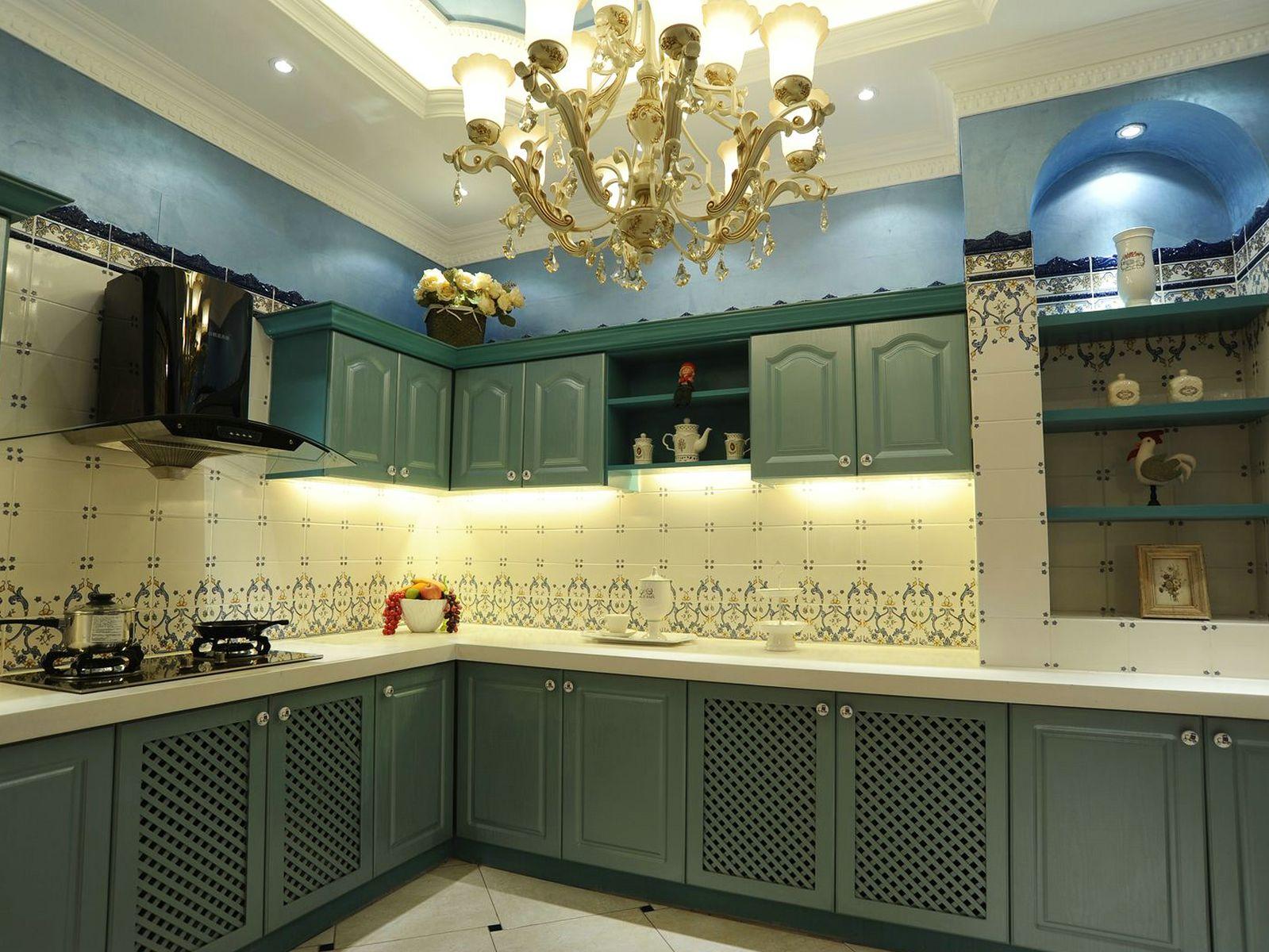 厨房卫生间瓷砖搭配