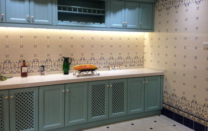 瓷砖和木板搭配