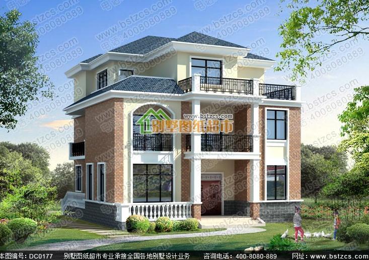 12x13米别墅设计图