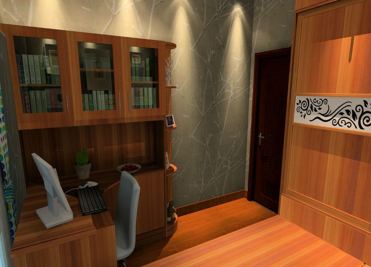 小房间效果图 艾美亚布布