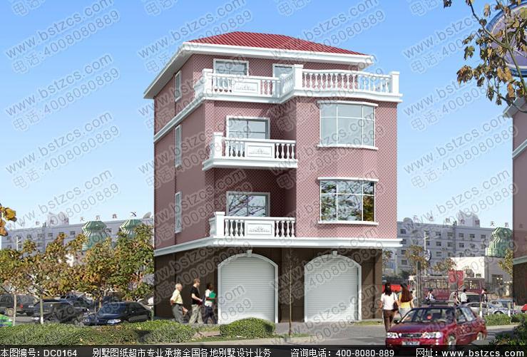 铺面型别墅图片