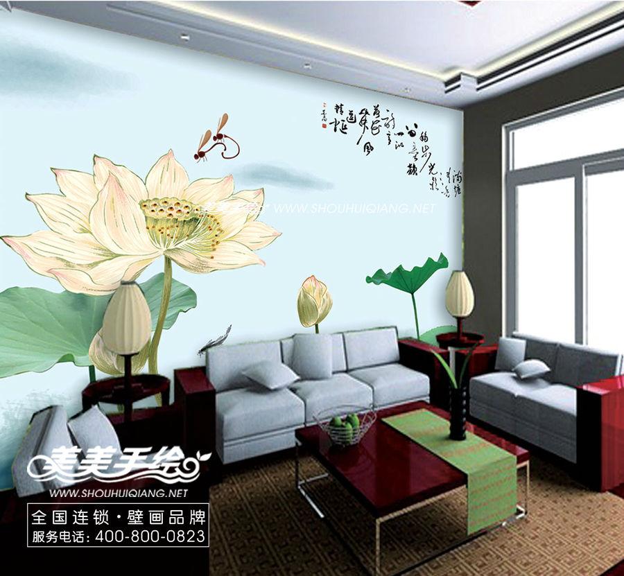 家装手绘墙画 - 家在深圳-房网论坛