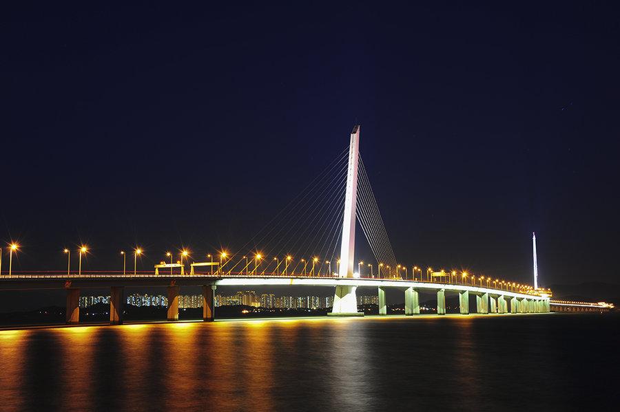 蛇口跨海大桥
